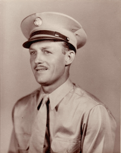 Albert Bader - Army Sgt portrait