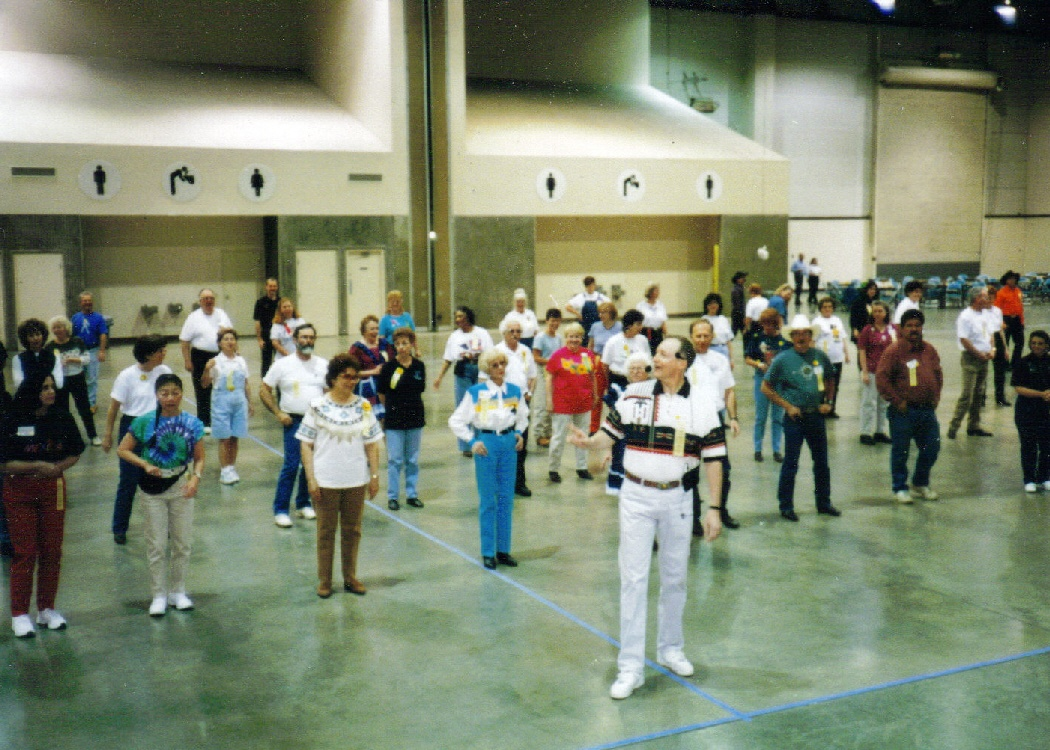Bill Bader Teaching At Silver State Festival Reno ca1998