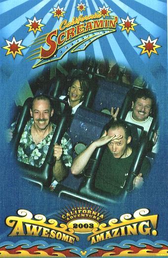 Doug Miranda Jackie Snyder Grant Gadbois Bill Bader Roller Coaster at CAP