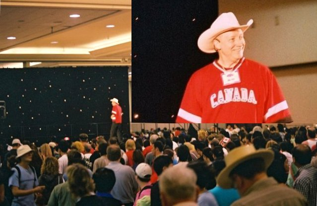 Photo of Bill Bader's Canada Day Workshop 2003