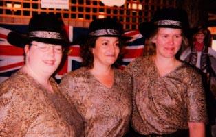 Sue, Bridget, Patricia