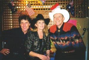 Photo: Michael Barr, Julie Molkner, Bill Bader at JamBC 99