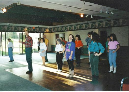 Inn On The Green Line Dance Class mid 1990s
