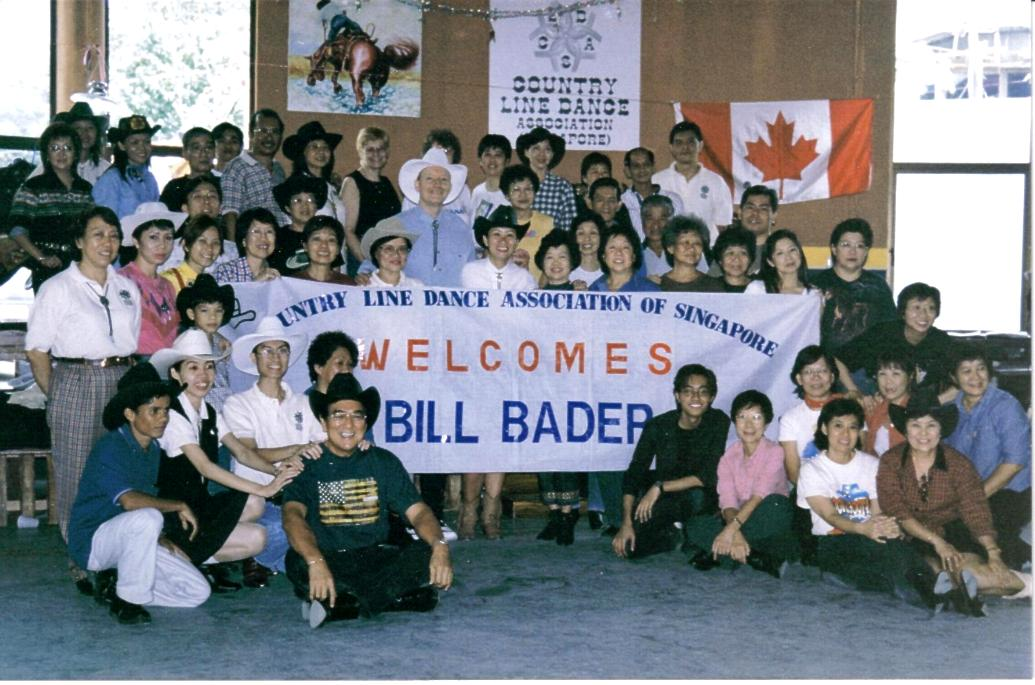 Singapore - First Teaching Workshop by Bill Bader, 2000