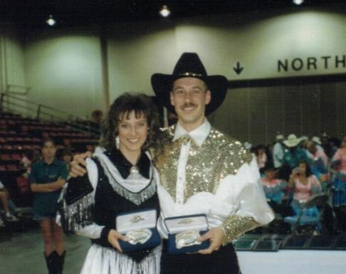 International Grand Champion Line Dancers Tracey Nelson and Grant Gadbois