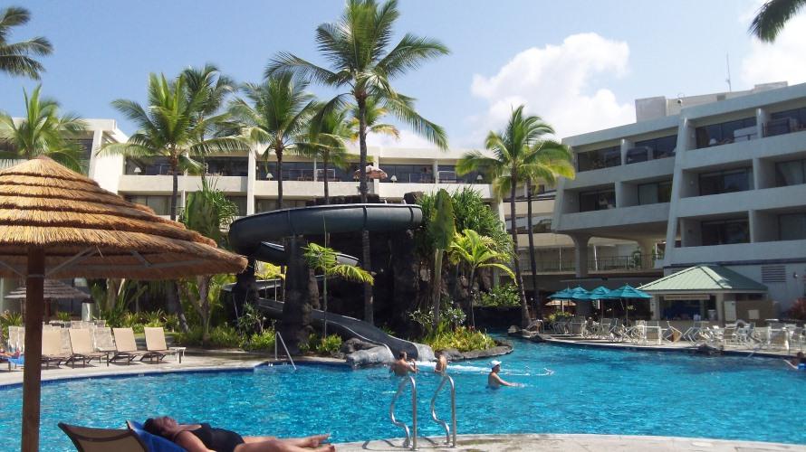 Hotel- Lava Cliff Outside Pool