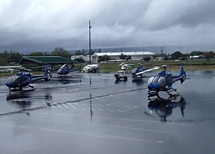 Helicopters - Hilo Airport