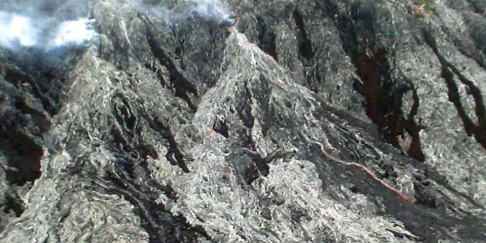 Flank Eruption - Hot Spots medium shot