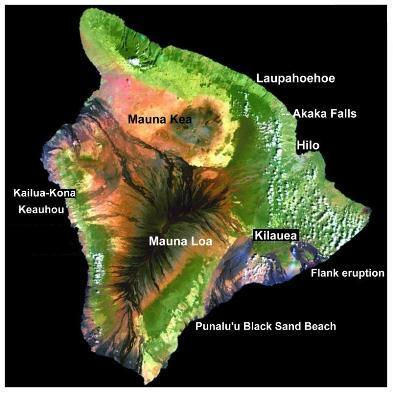 Big Island Photo Map