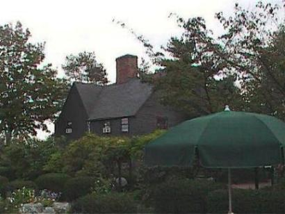 House of the Seven Gables side house