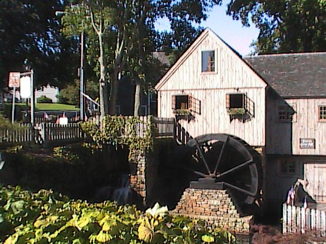 Plymouth's old grist mill