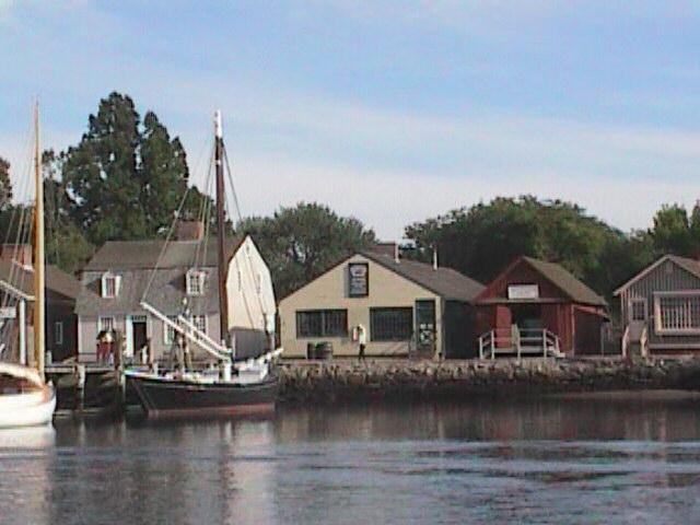 Mystic Seaport Houses