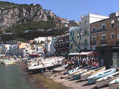 Capri-BoatsAlongMarinaGrande