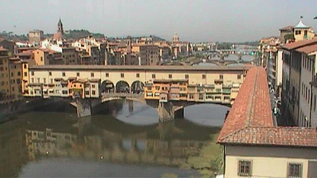 Florence-Ponte Vecchio from Uffizi