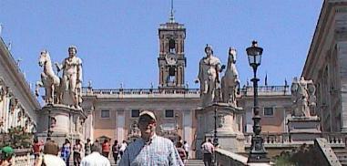 Rome-Campidoglio WIth Bill