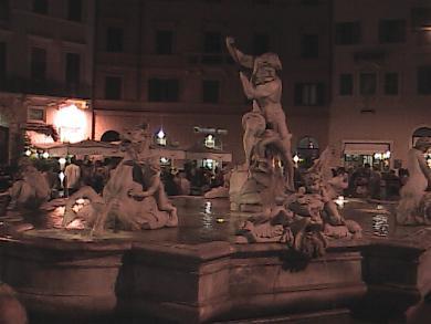 Rome-Four Rivers Fountain