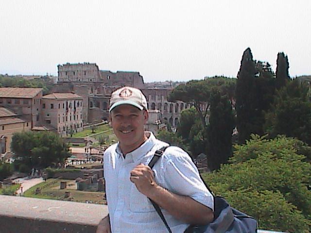 Rome-Grant Gadbois roamin' the Roman Forum