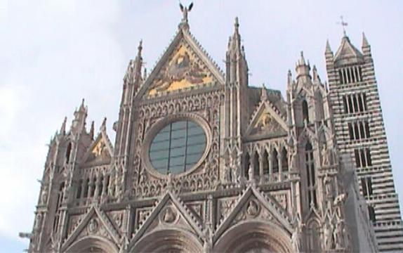 Siena-Duomo And Campanile