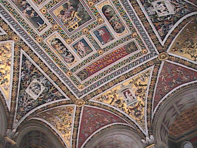 Siena-DuomoLibaryCeiling