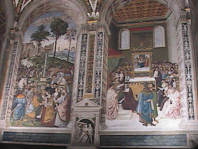 Siena-DuomoLibraryWall